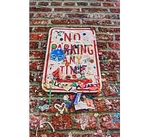 No Sticking Any Time Photographic Print