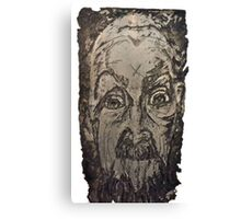 """Charlie"" Etching Plate Canvas Print"