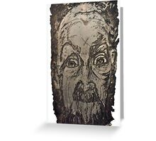 """""""Charlie"""" Etching Plate Greeting Card"""