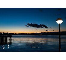 Twilight Harbor Photographic Print