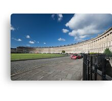 The Royal Crescent, Bath, England Canvas Print