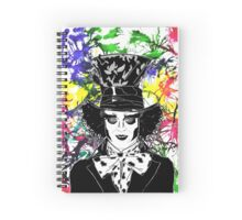 The Mad Hatter Spiral Notebook
