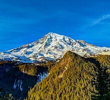Mt Rainier HDR by Kelushan