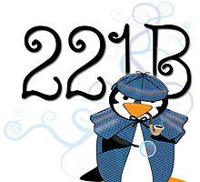 Sherlock Penguin by jerankin
