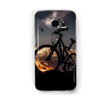 muountain biking Samsung Galaxy Case/Skin