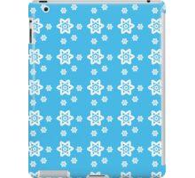 Snowflake Azure iPad Case/Skin