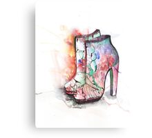 Mary Katranzou Shoes Canvas Print