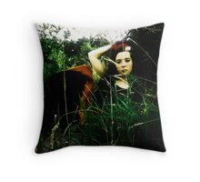 On The Mattress Exposed. Throw Pillow