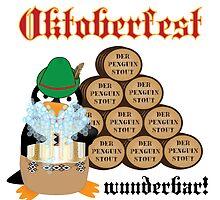 Oktoberfest Penguin by jerankin