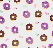 Donuts and jelly beans lover by strawberringo
