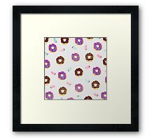 Donuts and jelly beans lover Framed Print