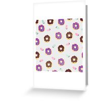 Donuts and jelly beans lover Greeting Card