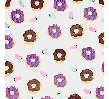 Donuts and jelly beans lover Photographic Print