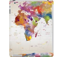 map  iPad Case/Skin