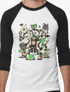 Capers, Schemes, Plans, & Scams Men's Baseball ¾ T-Shirt