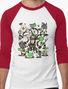 Capers, Schemes, Plans, & Scams Men's Baseball ¾ T-Shirt
