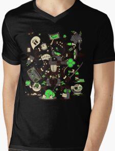 Capers, Schemes, Plans, & Scams Mens V-Neck T-Shirt