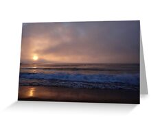 A Different Kind of Sunrise Greeting Card