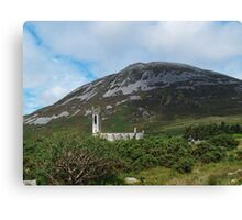 St John's Church and Errigal Mountain Canvas Print
