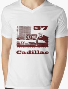1937 Cadillac Mens V-Neck T-Shirt