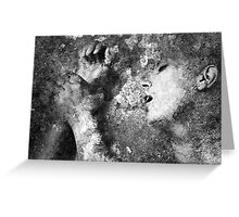 Wall Of Passion Greeting Card