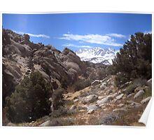 Sierras Peeking Poster