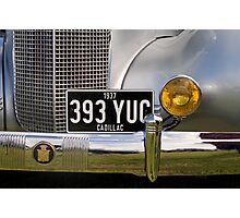 1937 Cadillac Photographic Print