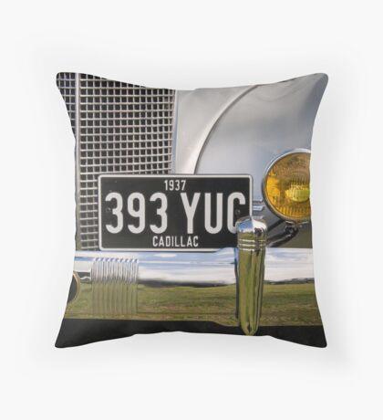 1937 Cadillac Throw Pillow
