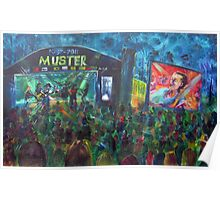 30th Gympie Muster Main Stage 2011 Poster