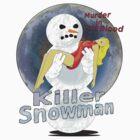 killer snowman by IanByfordArt