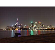 Toronto Skyline at night Photographic Print