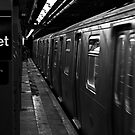 57th Street Subway Station, NYC by Paul Quixote Alleyne