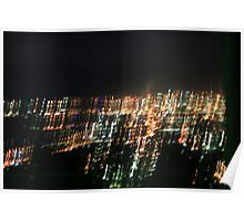 Lust for Light: Wollongong Night Vista Poster