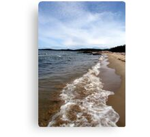 North Beach - Pukaskwa National Park - Heron Bay, Ontario Canada Canvas Print