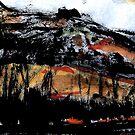 valley below the rock by banrai