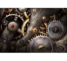 Steampunk - Gears - Horology Photographic Print