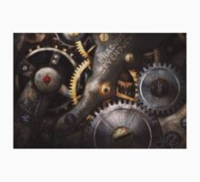 Steampunk - Gears - Horology Kids Tee