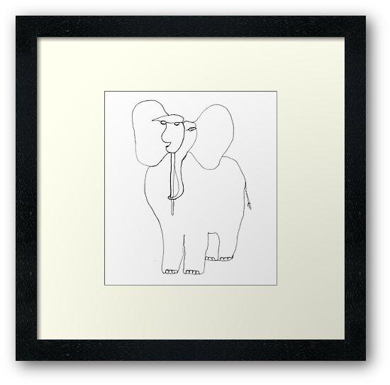 danimal's bestiary: elephant by dthaase