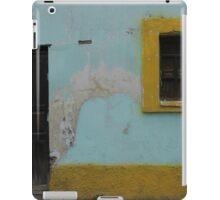 Door and Window With Yellow Trim iPad Case/Skin