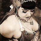 Fifi Noir Vintage Bellydancer by tidalcreations