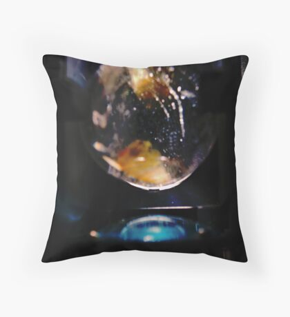 Time Machine. Throw Pillow