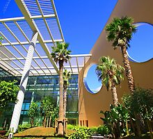 Champalimaud Centre for the Unknown.  interior garden 2 by terezadelpilar~ art & architecture