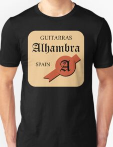 Guitarras Alhambra Spain T-Shirt