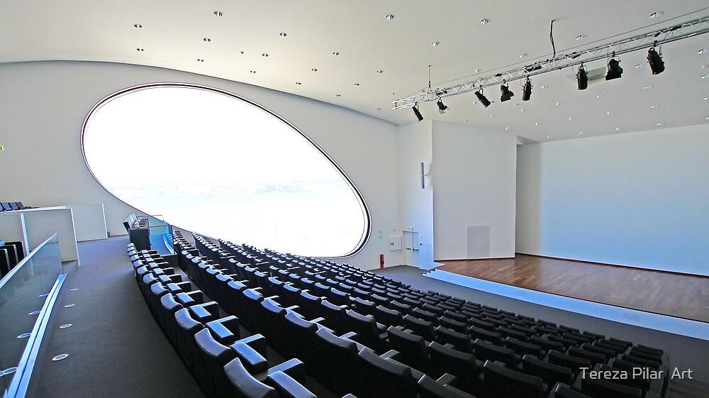 Champalimaud Centre for the Unknown. Amphitheatre by terezadelpilar~ art & architecture