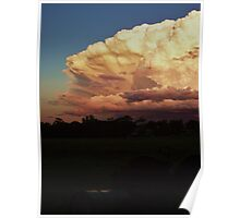 Cloud Explosion – Gatton QLD Poster