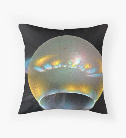 Opaline Reflections Throw Pillow