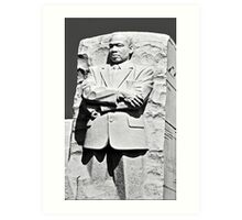Dr. Martin Luther King, Jr - Washington, DC Art Print