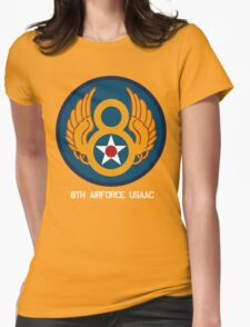 8th Airforce Emblem  Womens Fitted T-Shirt