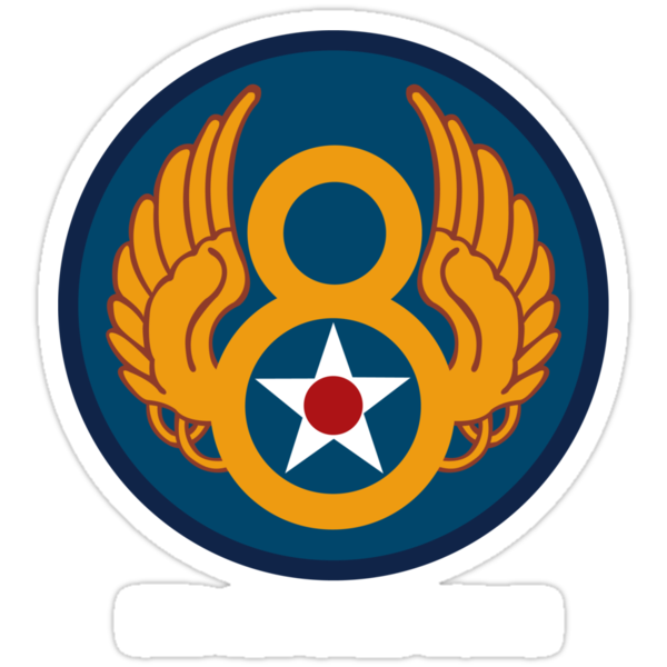 8th Airforce Emblem  by warbirdwear