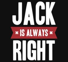 Jack is Always Right Kids Clothes